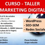 Taller de Marketing Digital en Valencia de 45 horas